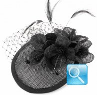 molletta camomilla cap flower black