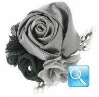 molletta -spilla camomilla garden black
