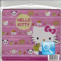 tappetino mouse hello kitty con mela
