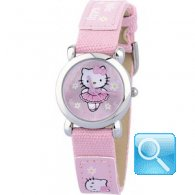 Orologio hello kitty tutu jean rosa