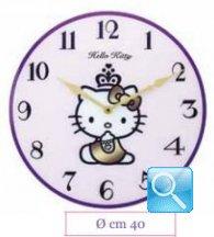 orologio hello kitty da parete in cristallo novita' 2013