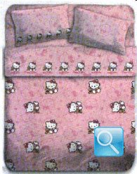 lenzuola hello kitty  culla orsetto