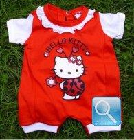 vestito hello kitty pagliaccetto neonato 80