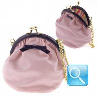 party purse gisele L.pink