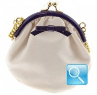 party purse gisele white