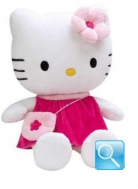 peluche hello kitty fuxia