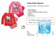 pigiama hello kittty novita'