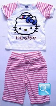 pigiama hello kitty