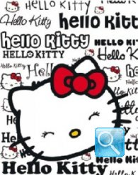 plaid hello kitty magazine