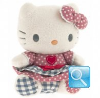 pupazzo hello kitty  plush i love you pink