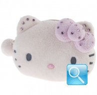 Portamonete Plush Pouch Hello Kitty Marshmallow pink