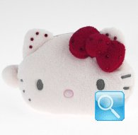 Portamonete Plush Pouch Hello Kitty Marshmallow red