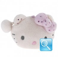 Portamonete Plush Pouch S Hello Kitty Marshmallow pink