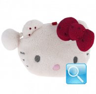 Portamonete Plush Pouch S Hello Kitty Marshmallow Red 