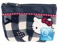 Pochette Campus Hello Kitty Blue