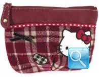 Pochette Campus Hello Kitty Red