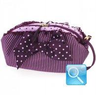 pochette camomilla m purple&pink