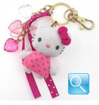 porta chiavi hello kitty pink
