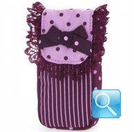 porta fazzoletti camomilla purple&pink
