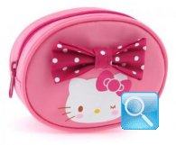 porta monete hello kitty pink