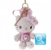 Portachiave Peluche Hello Kitty marshmallow pink