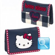 Portafoglio Campus Hello Kitty - S - Blue