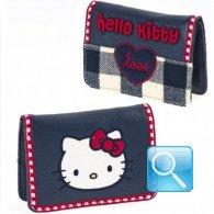 Portafoglio Campus Hello Kitty - S - Blue