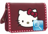 Portafoglio Campus Hello Kitty - S - Red