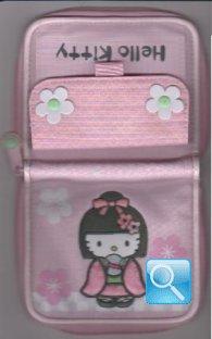 Portafoglio Hello kitty con kimono