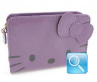 portafoglio hello kitty lilac