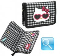 Portafoglio Hello Kitty -M- Black