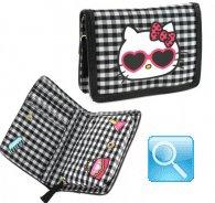 Portafoglio Hello Kitty -M- Black