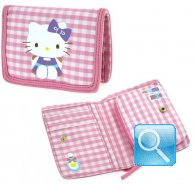 Portafoglio Hello Kitty -M- Pink