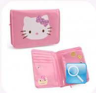 portafoglio hello kitty M pink