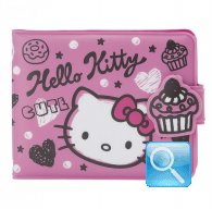 Portafoglio Plastificato Squiggle Hello Kitty