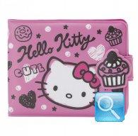 Portafoglio Plastificato Squiggle Hello Kitty