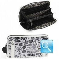 Portafoglio Pop Art Hello Kitty - L - Bianco