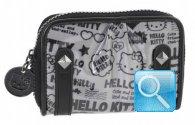 Portafoglio Pop Art Hello Kitty - S - Nero