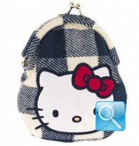 Portamonete Campus Hello Kitty Blue