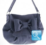 borsa postina ribbon d.blue