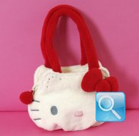 Borsetta Pouch Bag S Hello Kitty Marshmallow Red