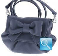 borsa camomilla pouch bag s ribbon d.blue