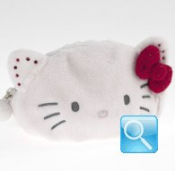 Pochette Pouch Hello Kitty Marshmallow Red