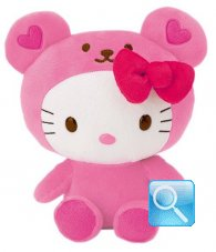 Peluche Hello Kitty Heart Bear
