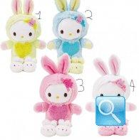 Peluche Mascot Hello Kitty Rabbit
