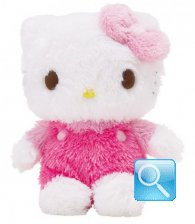 Peluche Hello Kitty S Fluffy Pink