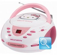 radio hello kitty cd stereo