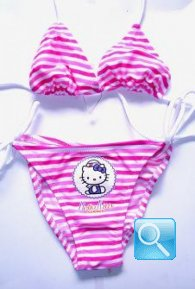 costume hello kitty bambina 5-6 anni b/f