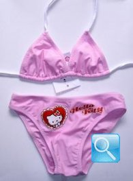 costume hello kitty bambina 5-6 anni rosa