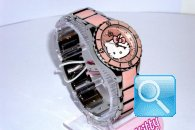 orologio hello kitty enamel rosa